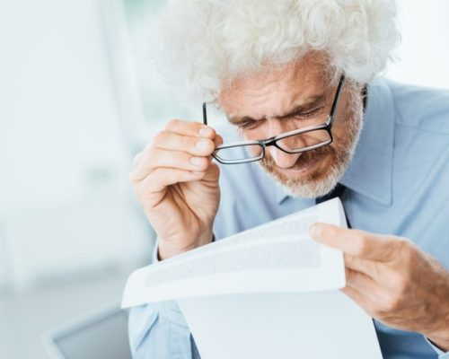 elderly vision problems