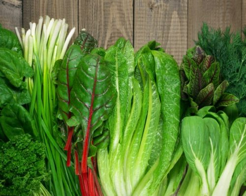 green vegetables for fatty liver