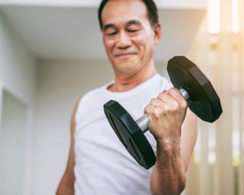 muscle loss symptoms