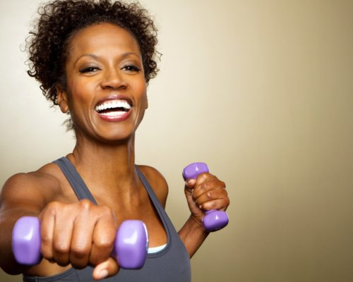 Postmenopausal women preventing muscle loss