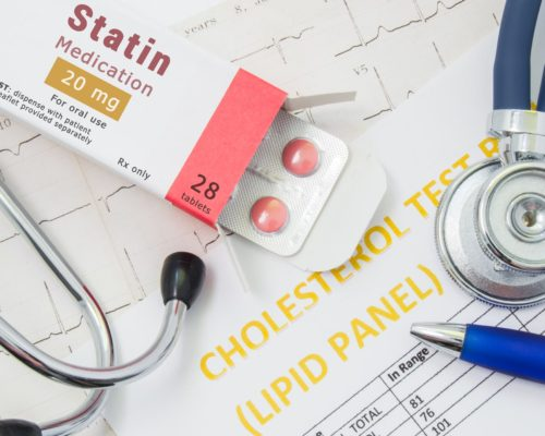 Statins help lower cholesterol but many patients not taking them