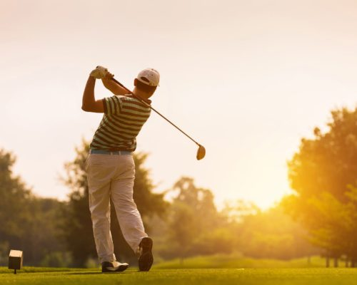 Joint pain golf game
