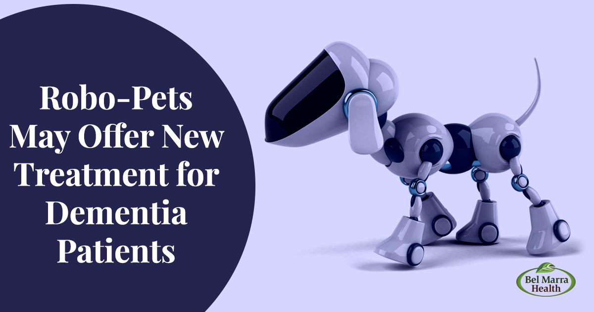 Robo-Pets May Offer New Treatment for Dementia Patients