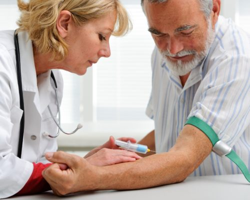 blood test heart attack stroke