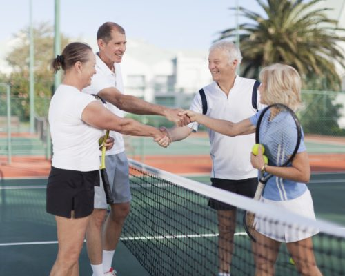 Racquet Sports Aging