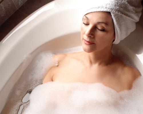 bath sleep quality