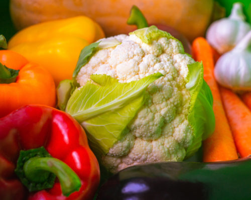 Healthy Selection of Fresh Vegetables