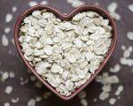 Oats in shape of heart